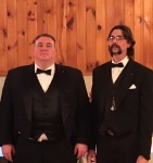 Bro Ed, Junior Warden, and Bro. Ray, Senior Warden, for 2016
