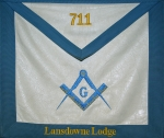Beautiful lodge apron