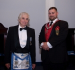 WM Brian McNaight and Justin Bailey of the IOOF